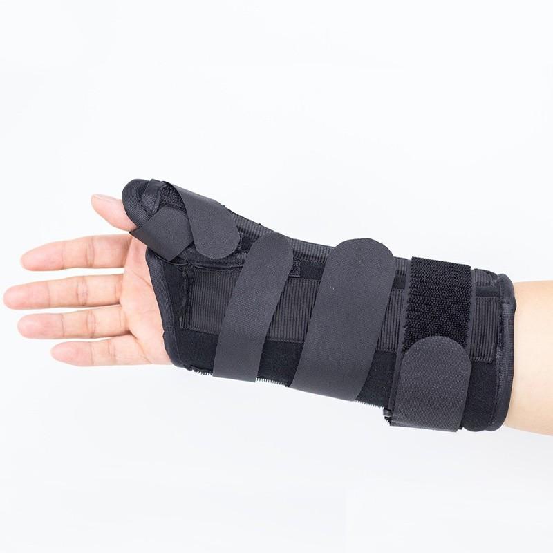 Verstellbare Handgelenkschiene mit Daumen Spica für verstauchte
