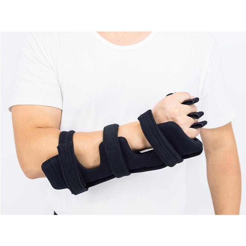Unterarm Handgelenkschiene Handorthesen mit einstellbarem Winkel Metall