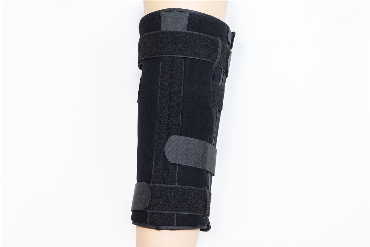 Tri-panel leg knee immobilizer