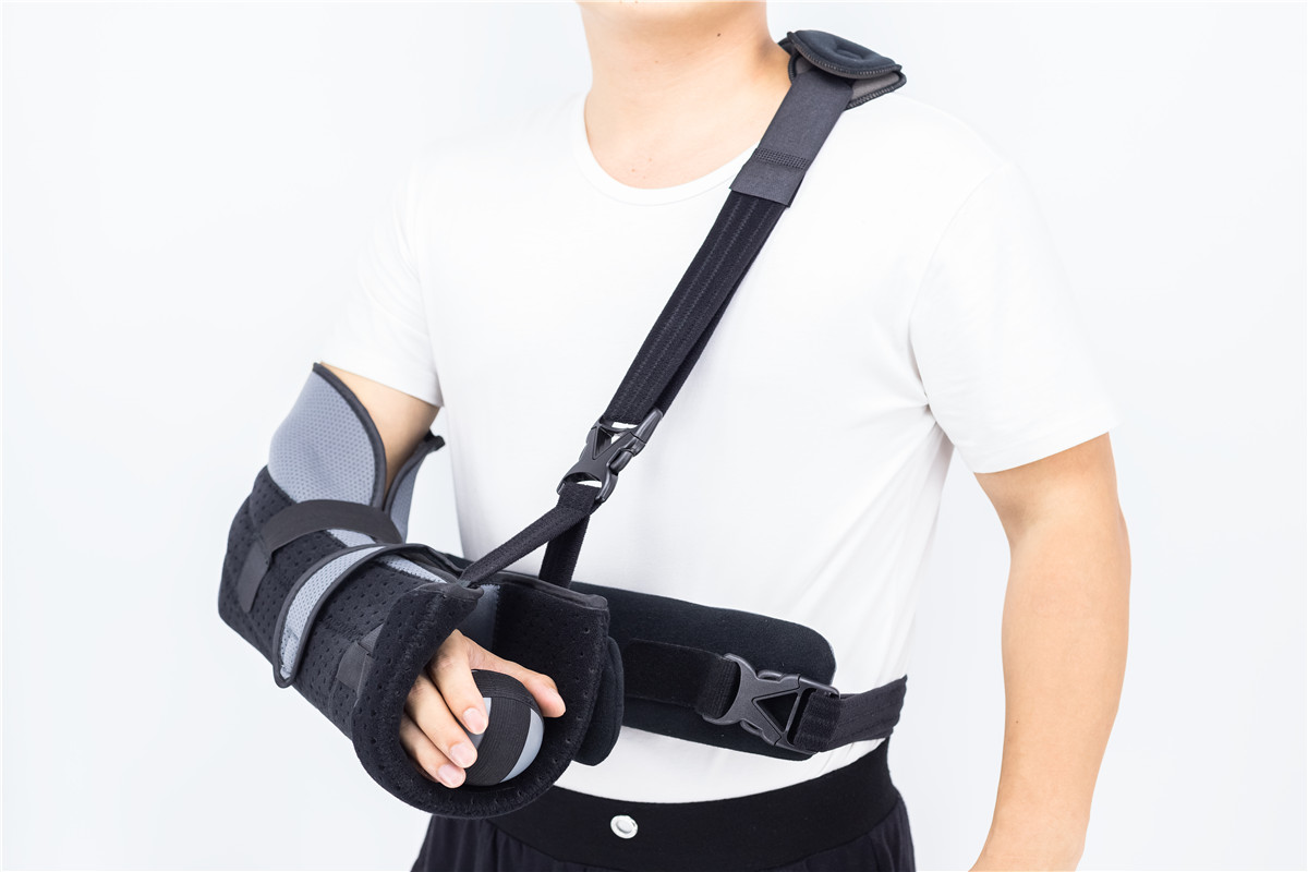shoulder Immobilizer with metal supports