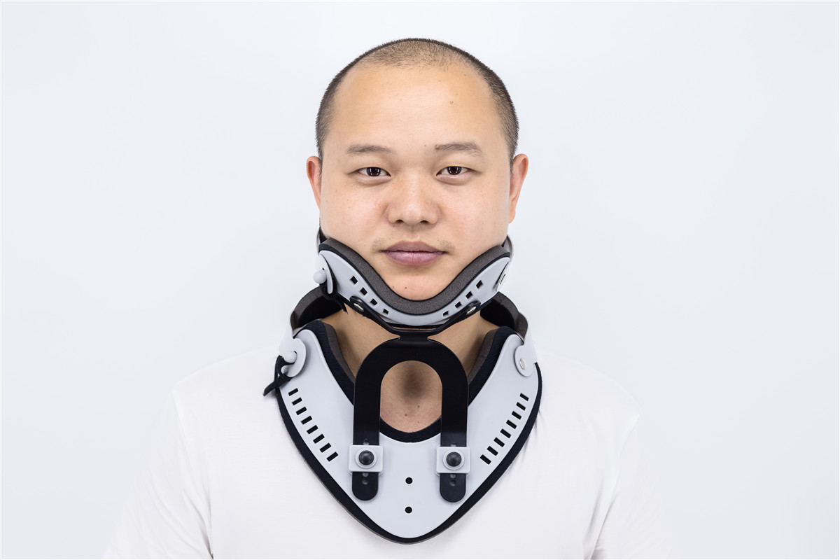 Adjustable Cervical Collar for Sprained