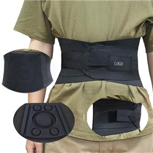 Untere Rückenorthese mit zwei verstellbaren Trägern und Rückenplatte