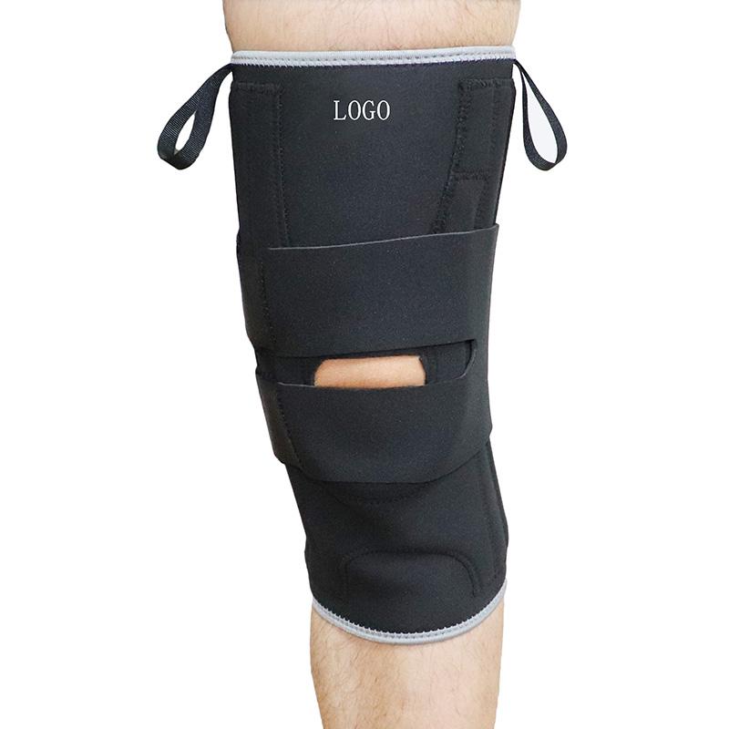 J-Form seitlicher Kniestabilisator mit Kniegelenk