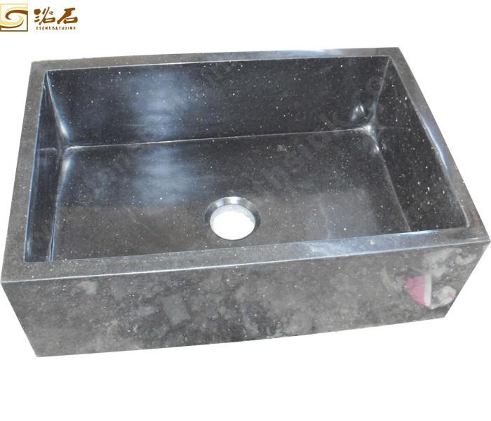 Black Galaxy Granite Kitchen Sink