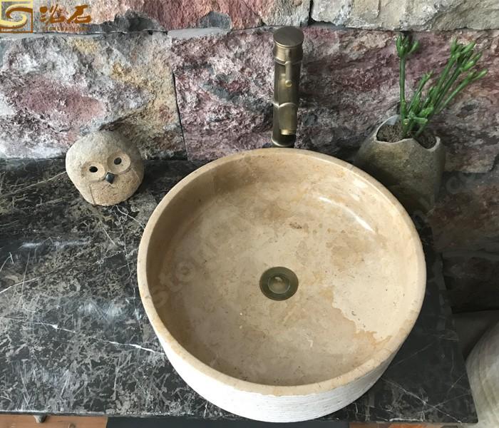 Classica Beige Marble Bathroom Sink Manufacturers, Classica Beige Marble Bathroom Sink Factory, Supply Classica Beige Marble Bathroom Sink