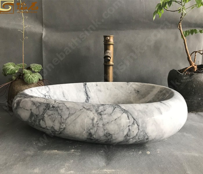 China Carrara White Marble Counter Sink Manufacturers, China Carrara White Marble Counter Sink Factory, Supply China Carrara White Marble Counter Sink