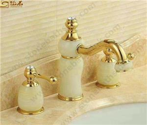Green Onyx Water Tap Sets