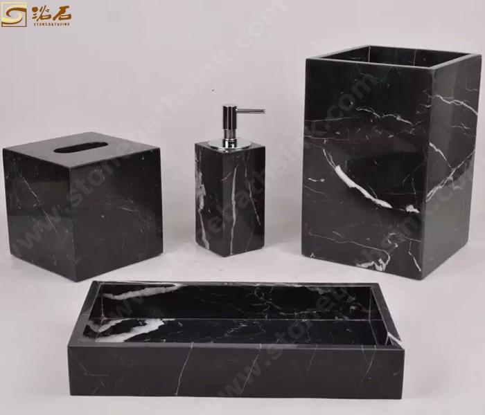 Nero Marqunia Marble Lotion Bottle Sets