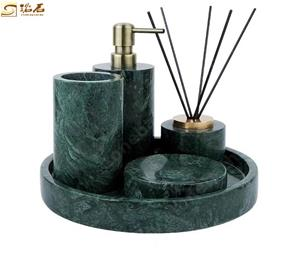 Indian Green Marble Bathroom Accessories