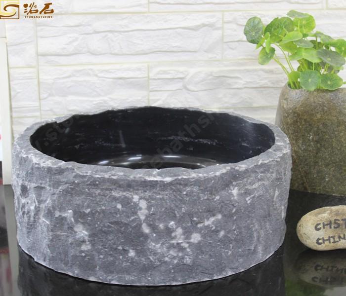 Black Limestone Sink