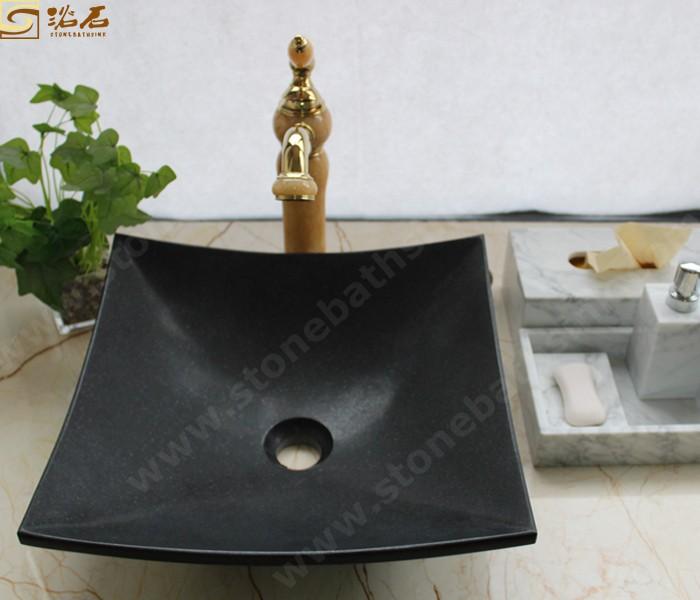 Indina Black Granite Washbasin