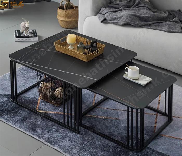 איטלקי מודרני מתקפל מתקפל ריהוט ערכות שולחן אוכל ערכות שולחן קפה