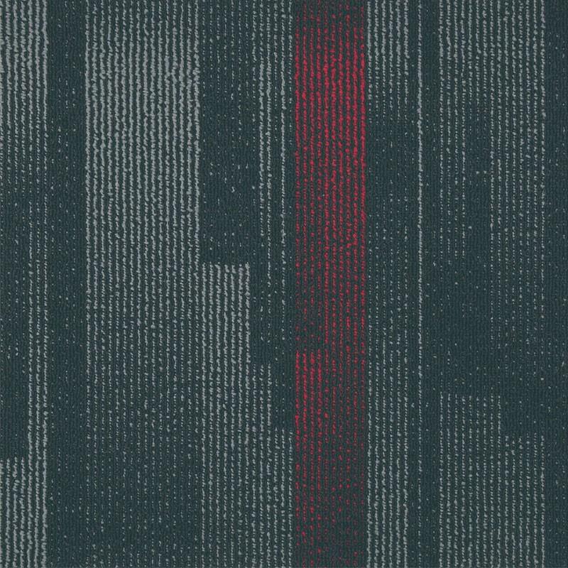 FP8 Polypropylene Modern Office Commercial Carpet Tiles