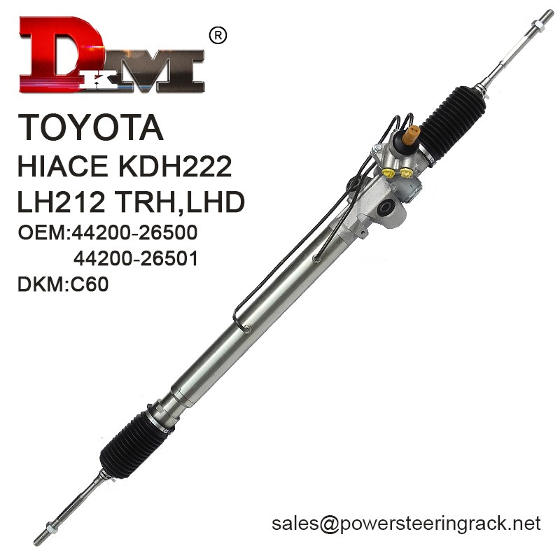 DKM C60 44200-26500 KDH222 LH212 TRH 4*4 Power Steering Rack Manufacturers, DKM C60 44200-26500 KDH222 LH212 TRH 4*4 Power Steering Rack Factory, Supply DKM C60 44200-26500 KDH222 LH212 TRH 4*4 Power Steering Rack