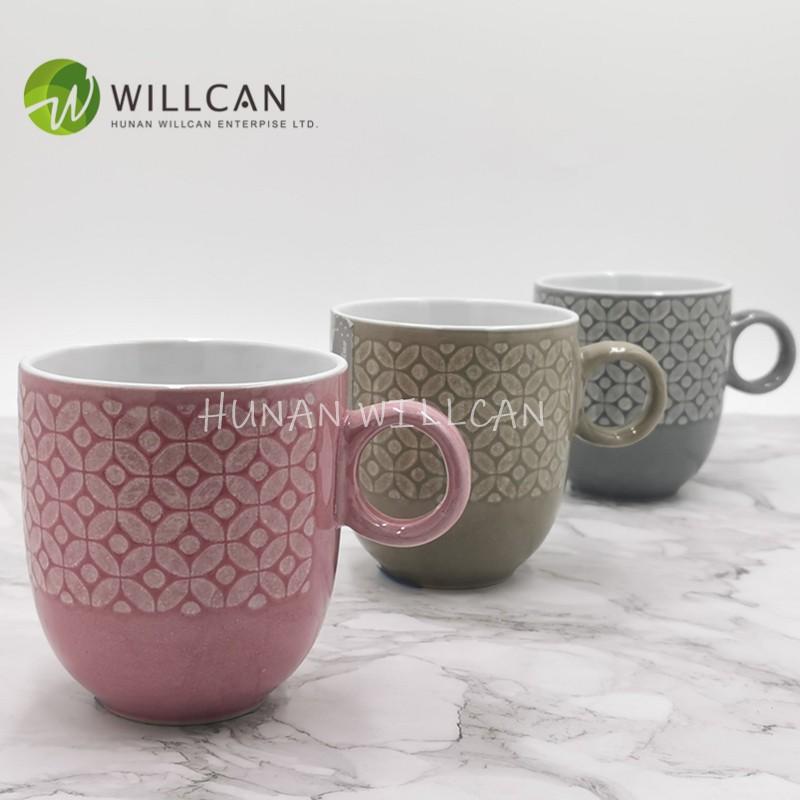 Reactive Glaze Tea Mug With Round Handle Manufacturers, Reactive Glaze Tea Mug With Round Handle Factory, Supply Reactive Glaze Tea Mug With Round Handle