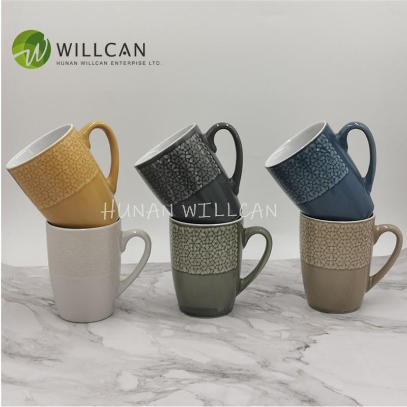 Cool Reactive Glaze Belly Mug