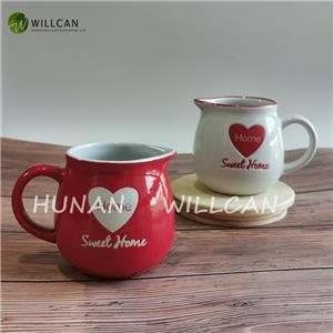 Sweet Home Hand Painted Creamer
