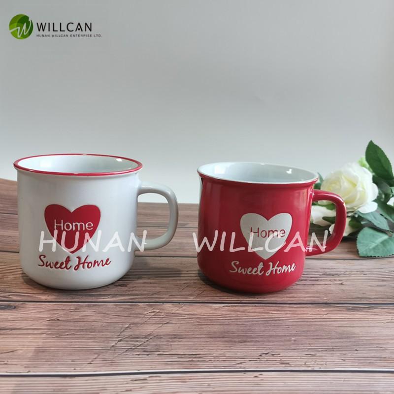 Sweet Home Hand Painted Enamel Mugs Manufacturers, Sweet Home Hand Painted Enamel Mugs Factory, Supply Sweet Home Hand Painted Enamel Mugs