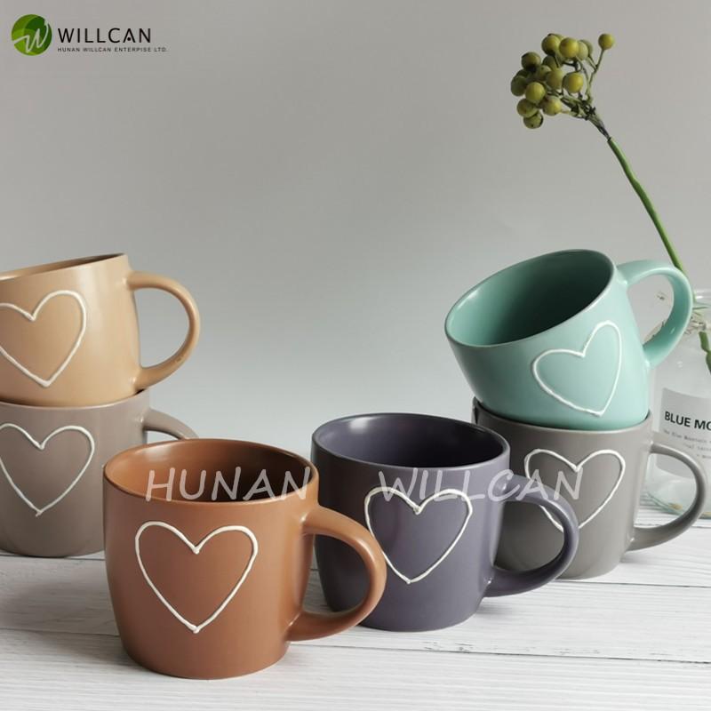 Vintage Heart Painted Dream Mug Manufacturers, Vintage Heart Painted Dream Mug Factory, Supply Vintage Heart Painted Dream Mug