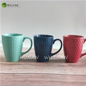 Simple Large Embossed Handmade Beer Mugs