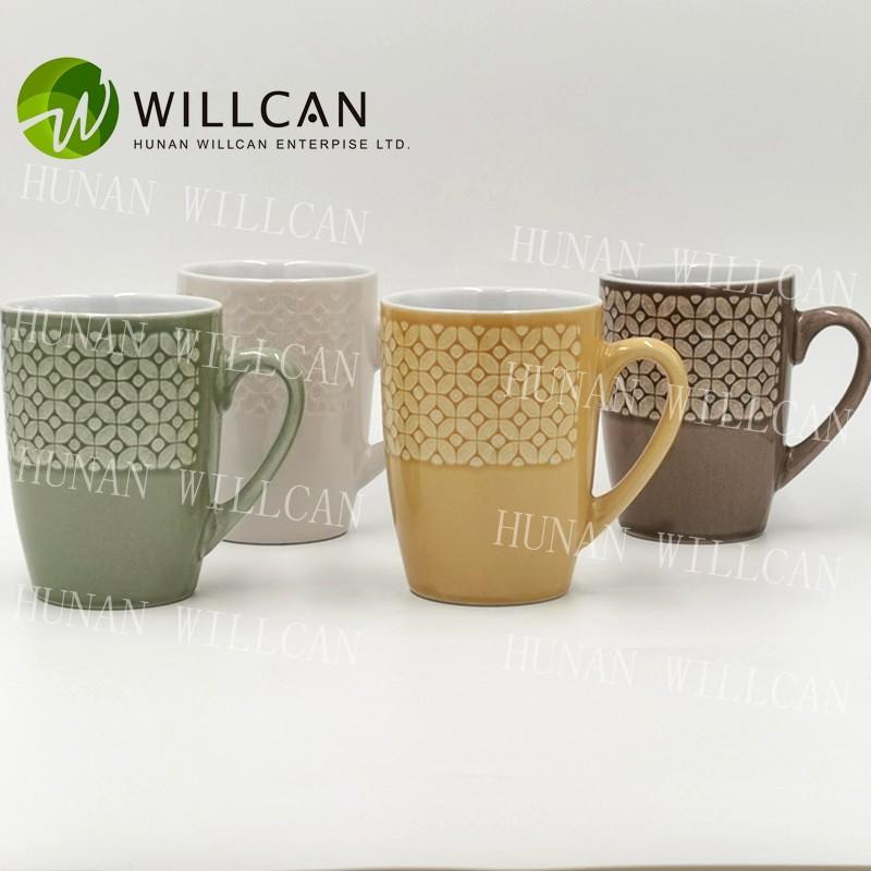 Reactive Glaze Handmade Stoneware Mug