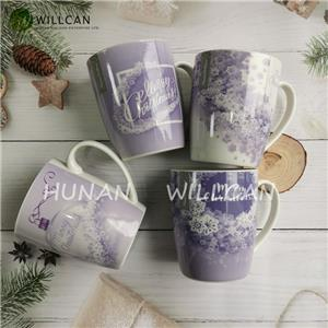 Christmas Decoration Purple Coffee Mug