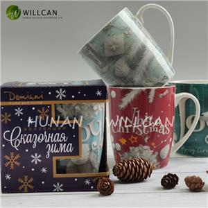 Christmas Decoration Multicolor Coffee Mug
