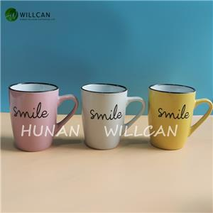 Colorful Smile Hand Painted Mug