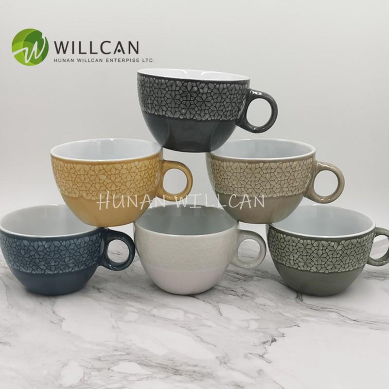 Cool Reactive Glaze Soup Cup Manufacturers, Cool Reactive Glaze Soup Cup Factory, Supply Cool Reactive Glaze Soup Cup