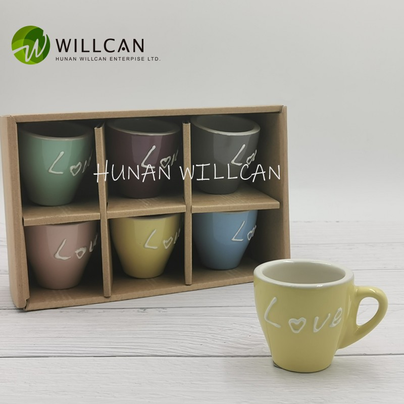 Macaron Color Love Hand Painted Coffee Cup Manufacturers, Macaron Color Love Hand Painted Coffee Cup Factory, Supply Macaron Color Love Hand Painted Coffee Cup