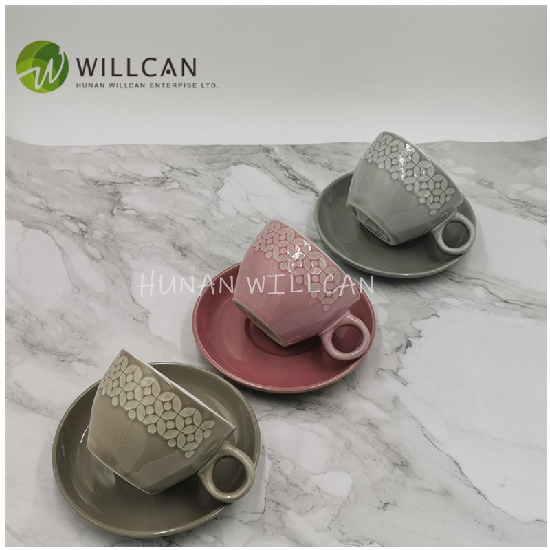 Reactive Glaze Tea Cup And Saucer Set Manufacturers, Reactive Glaze Tea Cup And Saucer Set Factory, Supply Reactive Glaze Tea Cup And Saucer Set