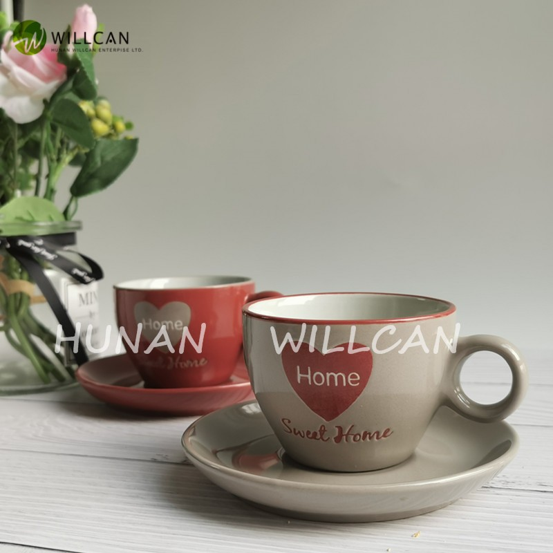 Sweet Home Hand Painted Tea Cup And Saucer Manufacturers, Sweet Home Hand Painted Tea Cup And Saucer Factory, Supply Sweet Home Hand Painted Tea Cup And Saucer