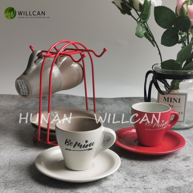 Be Mine Hand Painted Coffee Cup And Saucer Manufacturers, Be Mine Hand Painted Coffee Cup And Saucer Factory, Supply Be Mine Hand Painted Coffee Cup And Saucer