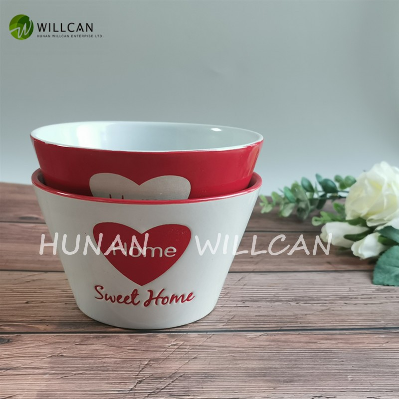 Sweet Home Hand Painted V Shaped Bowl Manufacturers, Sweet Home Hand Painted V Shaped Bowl Factory, Supply Sweet Home Hand Painted V Shaped Bowl