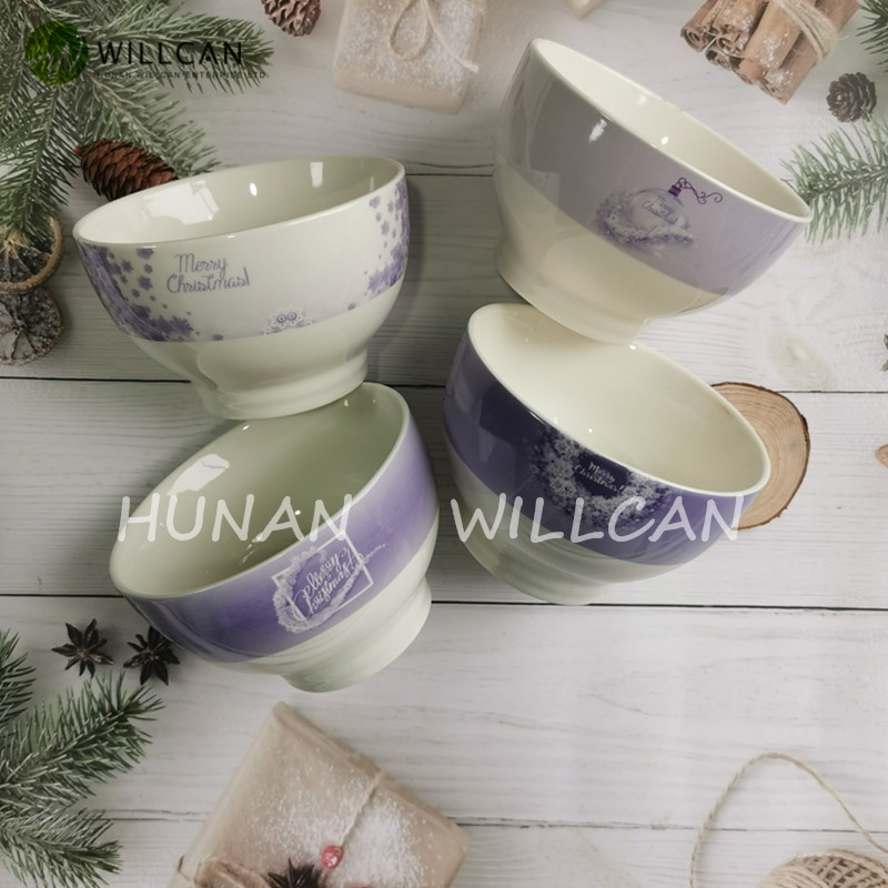 Christmas Decoration Purple Footed Bowl Manufacturers, Christmas Decoration Purple Footed Bowl Factory, Supply Christmas Decoration Purple Footed Bowl