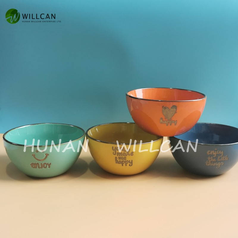 Colorful Enjoy Hand Painted Bowl With Handle Manufacturers, Colorful Enjoy Hand Painted Bowl With Handle Factory, Supply Colorful Enjoy Hand Painted Bowl With Handle