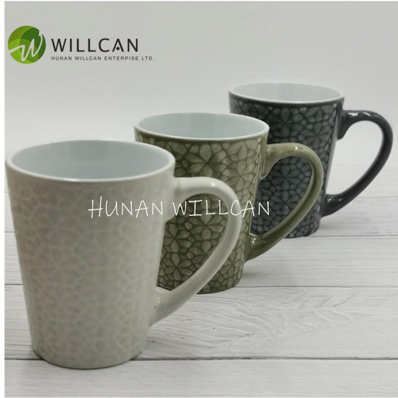 vintage pottery coffee mugs