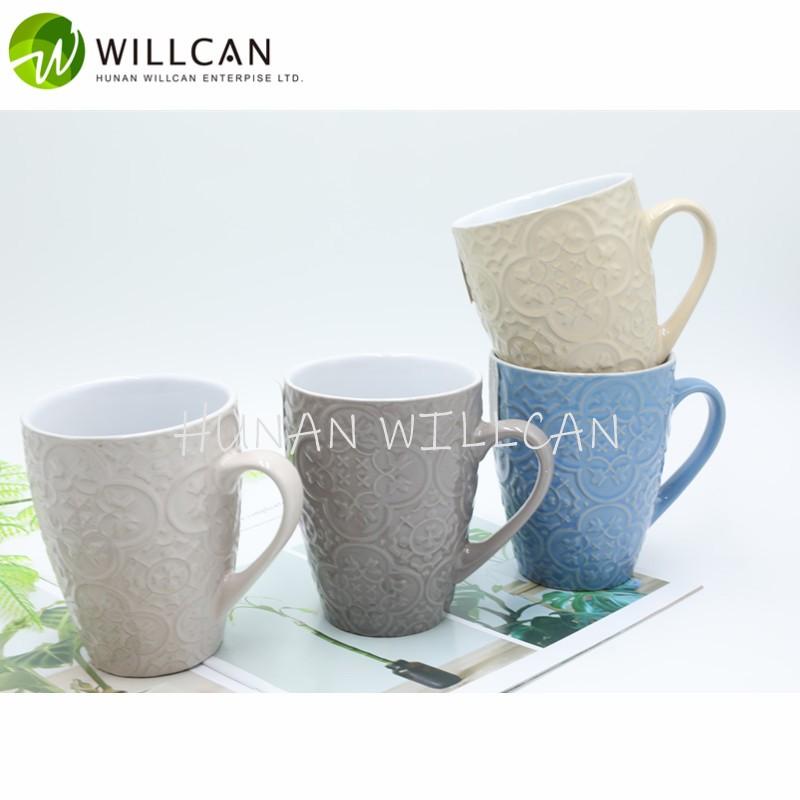 embossed mug