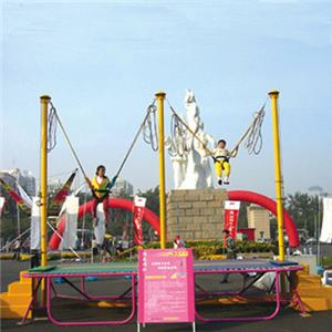 Amusement Park outdoor playground bungee jumping for kids