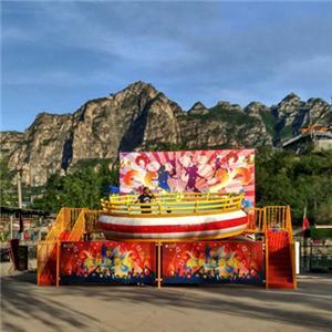 Amusement park equipment break dance crazy dance disco ride