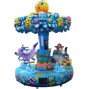 Popular Mini Animal carousel amusement park rides for kids