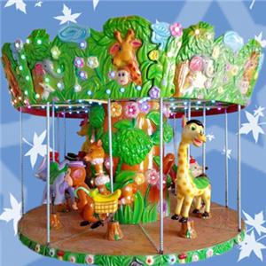 Popular design whirl Kids carousel fairyland merry-go-round park