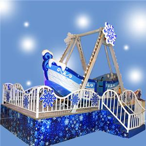 Kids mini swing boat amusement park equipment small pirate ship