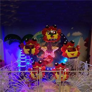 Children funfair rides mini ferris wheel kiddie games