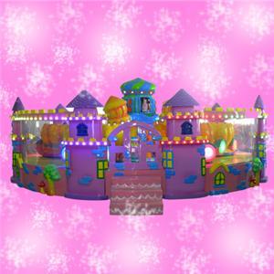 Happy classic castle park amusement ride cost