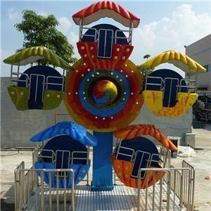 Amusement park rides small ferris wheel for kids