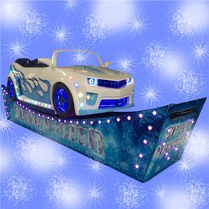 Amusement park racing ride singing car for sale