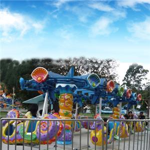 Happy theme park amusement equipment chair swing rides