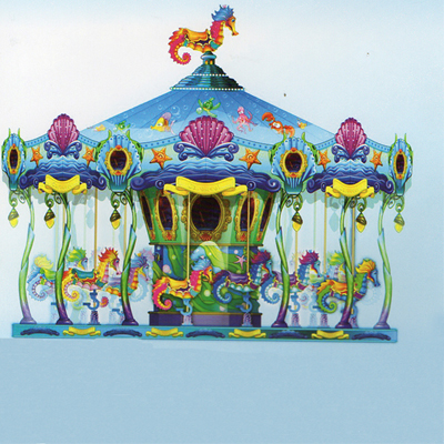 New design amusement rides carousel rides ocean carousel for sale