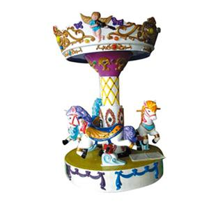 Electric amusement facility merry go round small carousel for kids